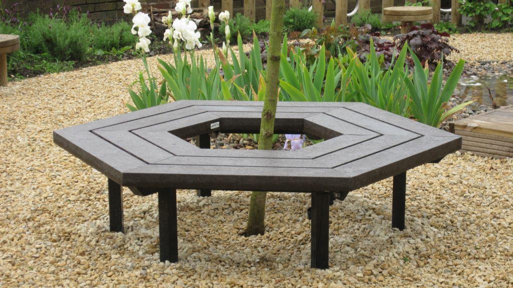 Hexagonal Bench (backless)