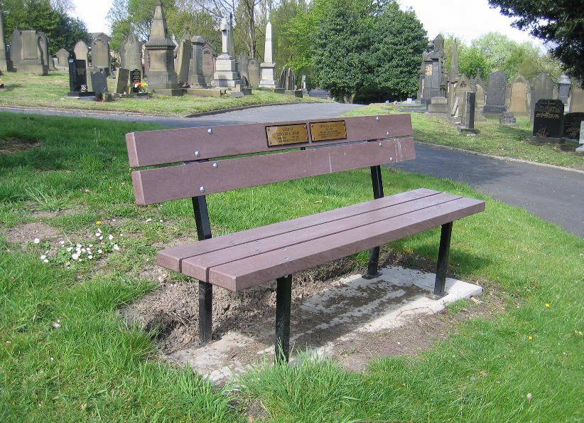 Jesmond Memorial Bench