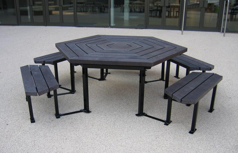 Newark Six Sided (Hexagonal) table
